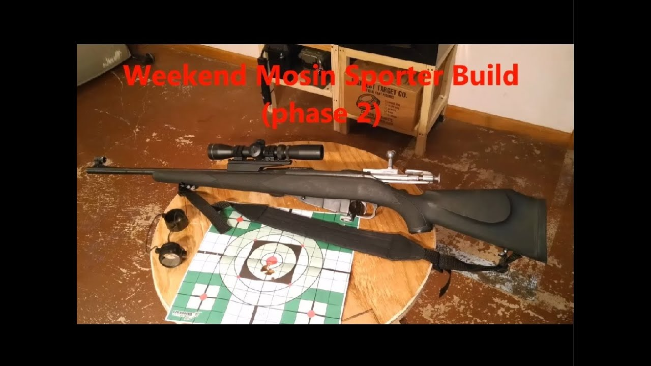 Weekend Mosin Sporter Build (Phase 2 of 4) Adding Rail & Scope.*