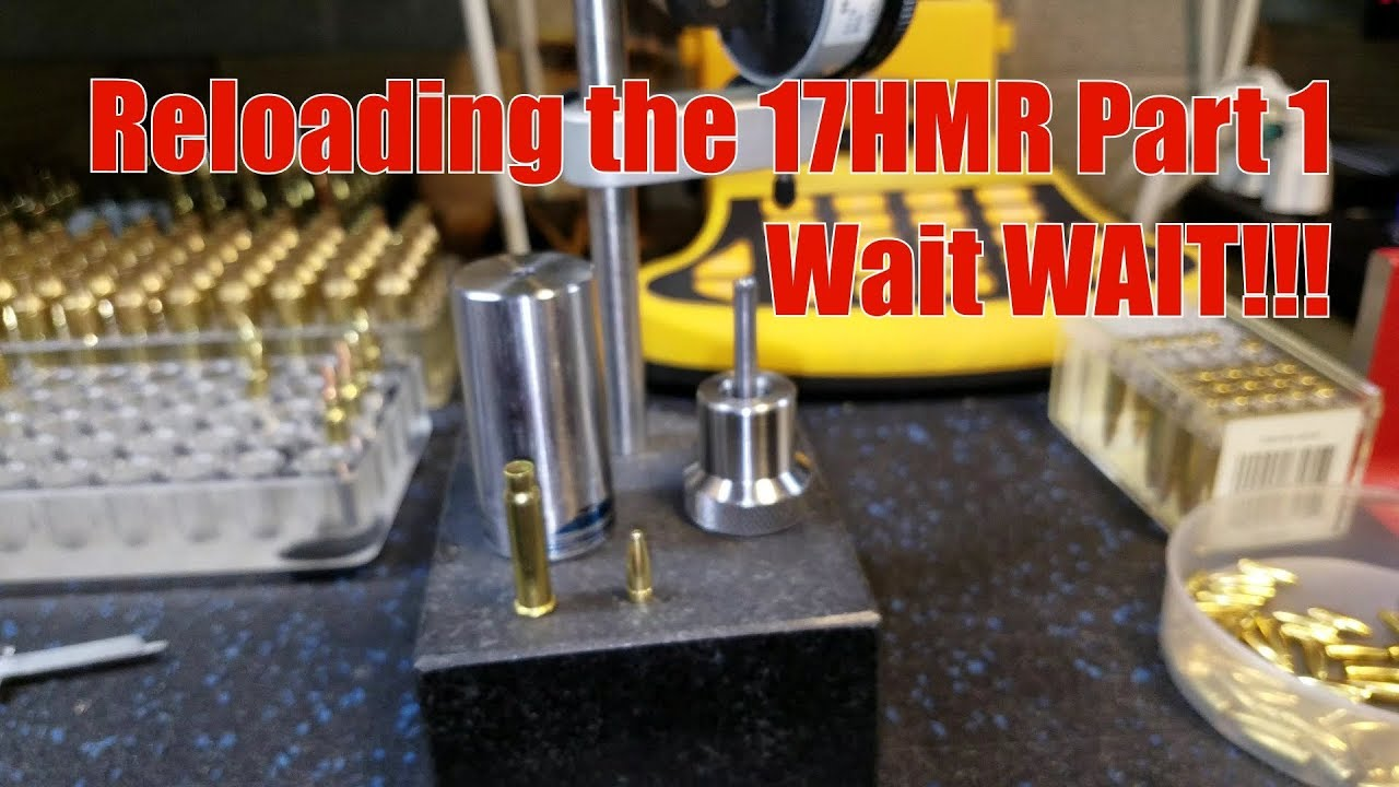 Reloading the 17HMR Part 1, Wait WHAT!!!