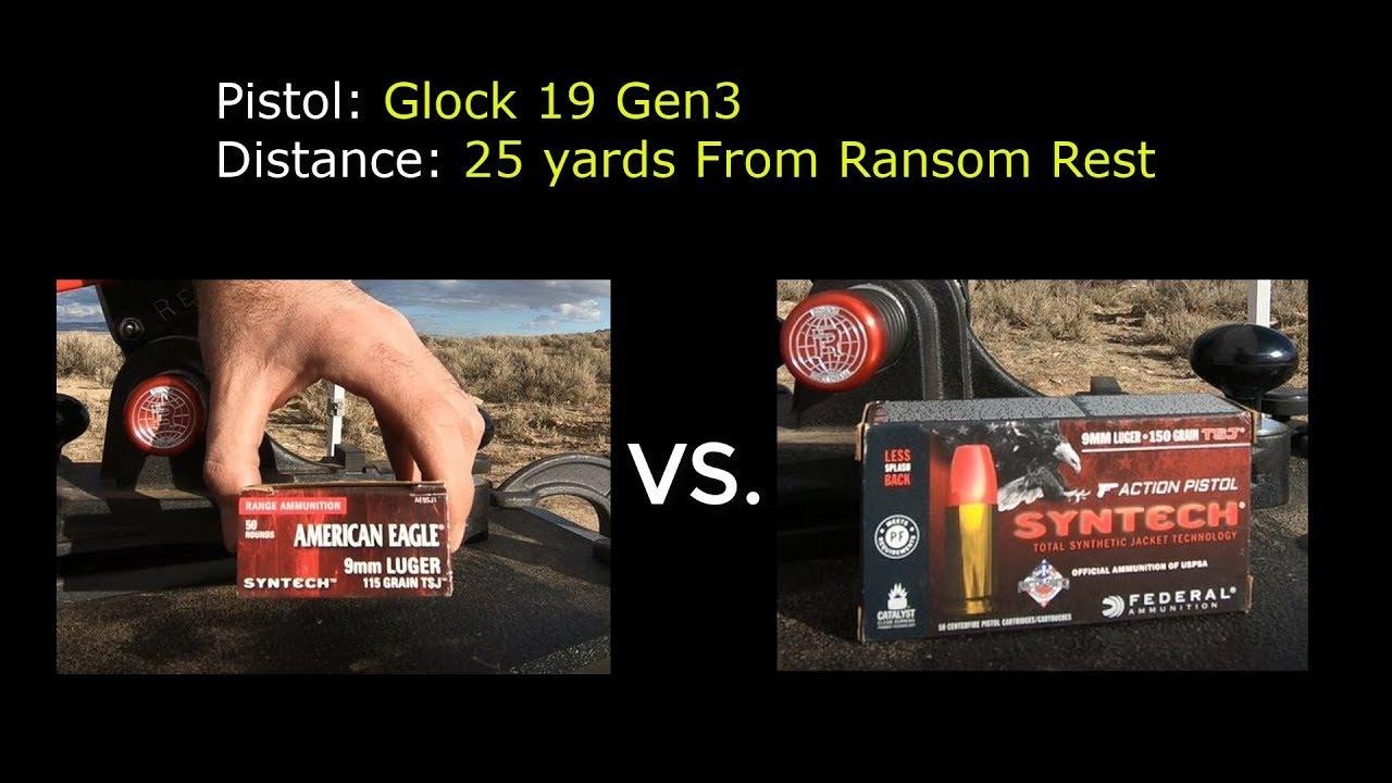 ACCURACY TEST: Glock 19 Gen3 with Corbon DPX 115gr SCHP +P