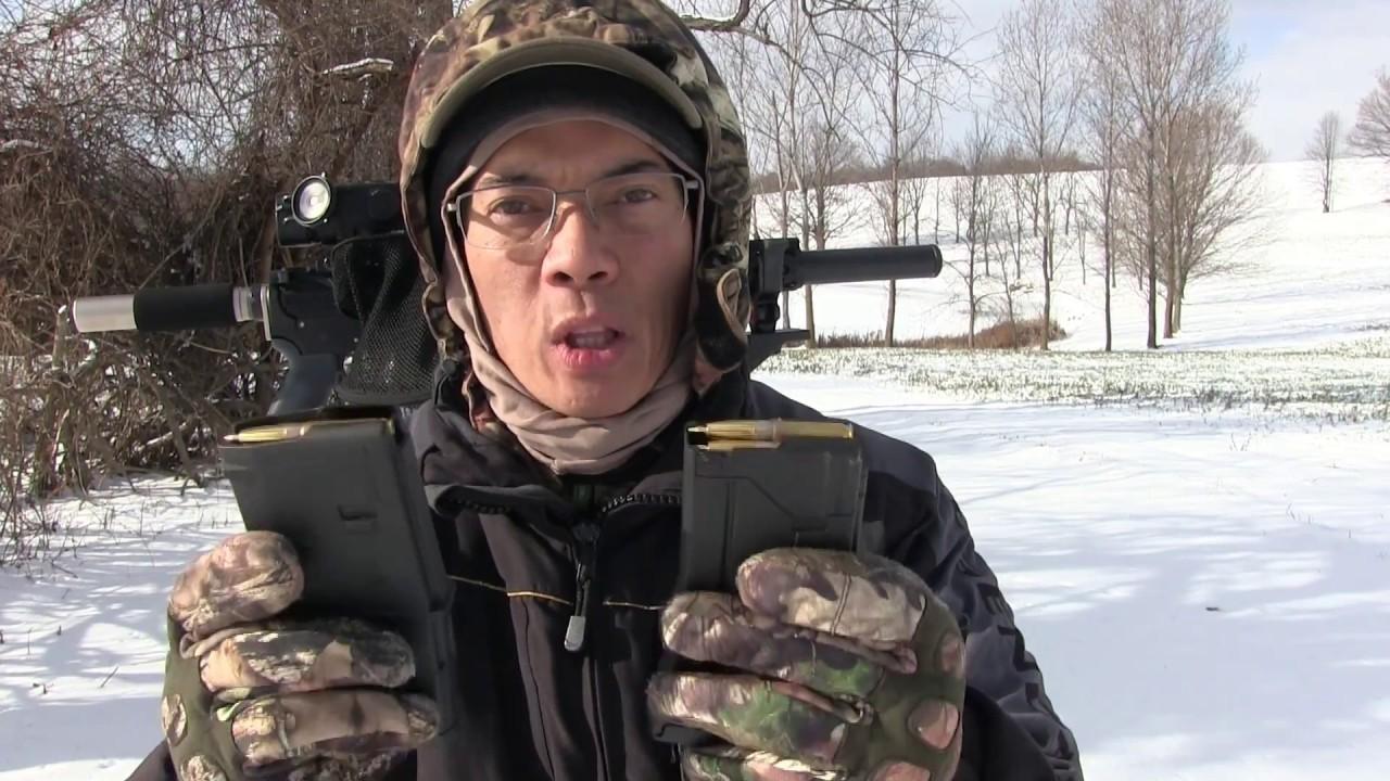 Hodgdon Powder CFEBLK Cold Weather Test and Clean Test 300 Blackout Pistol