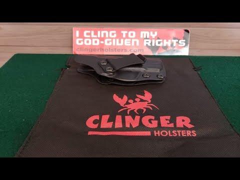 Honest Review in One Take:  Clinger V3 Stingray Holster
