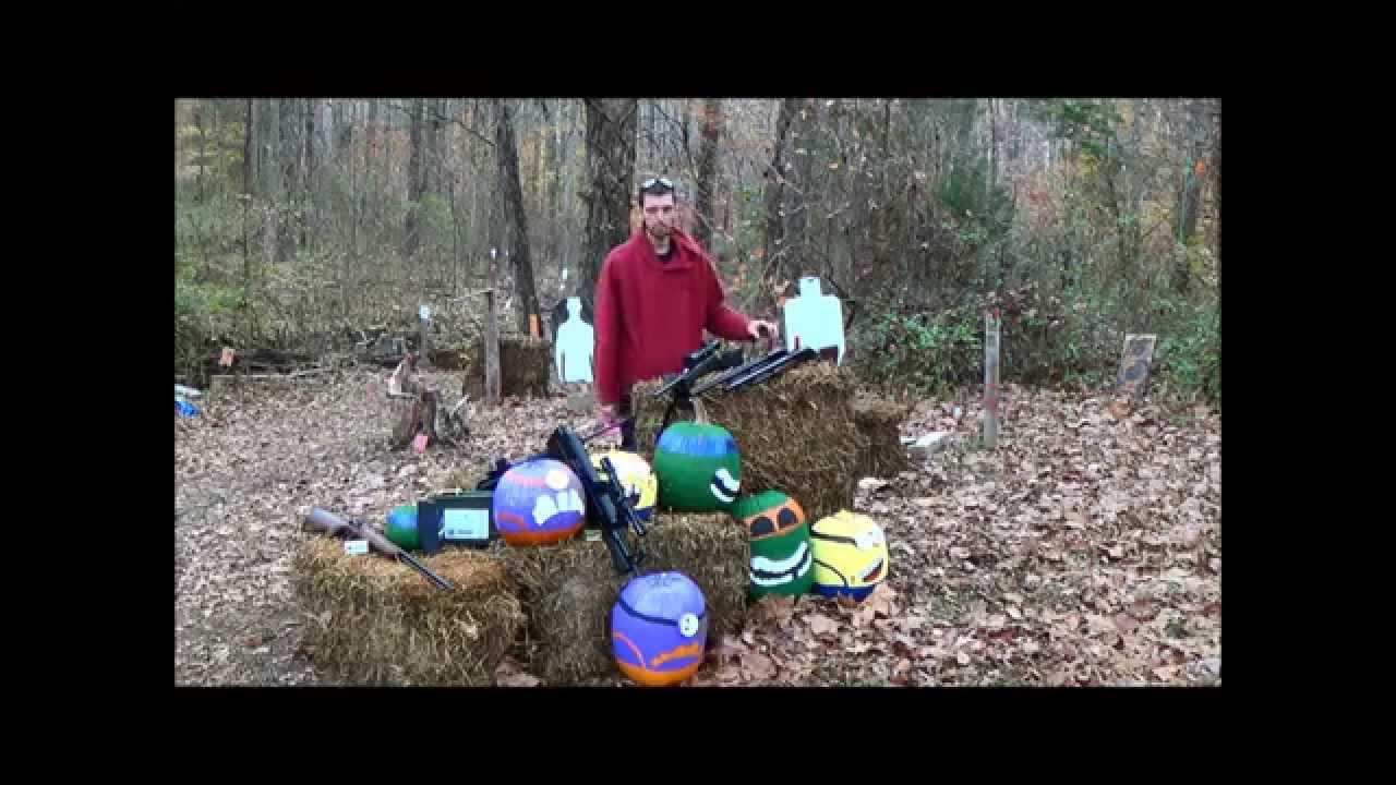 The GunFather: Firearms Friday- **Long Gun Ballistics with Pumpkins** Part 1 of 2