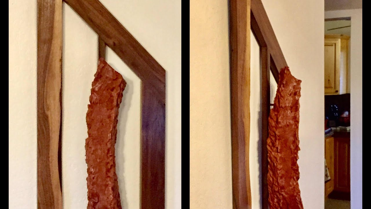 Littlewierdshop 1st Amazing Art Piece - Wood on Wood Art