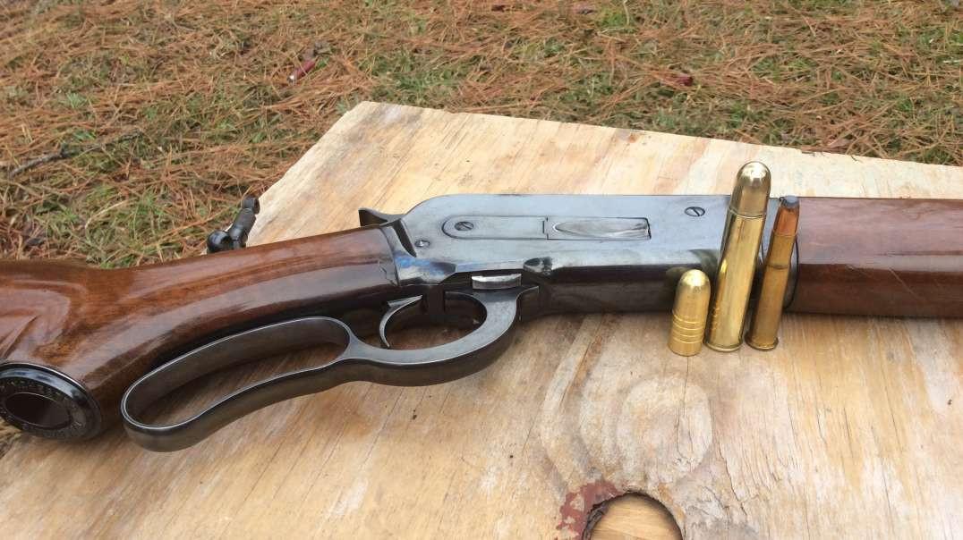 Barnes Banded Solids 535 grain bullet vs cinder block, shot from1886 Winchester cal 50-110 WCF lever action