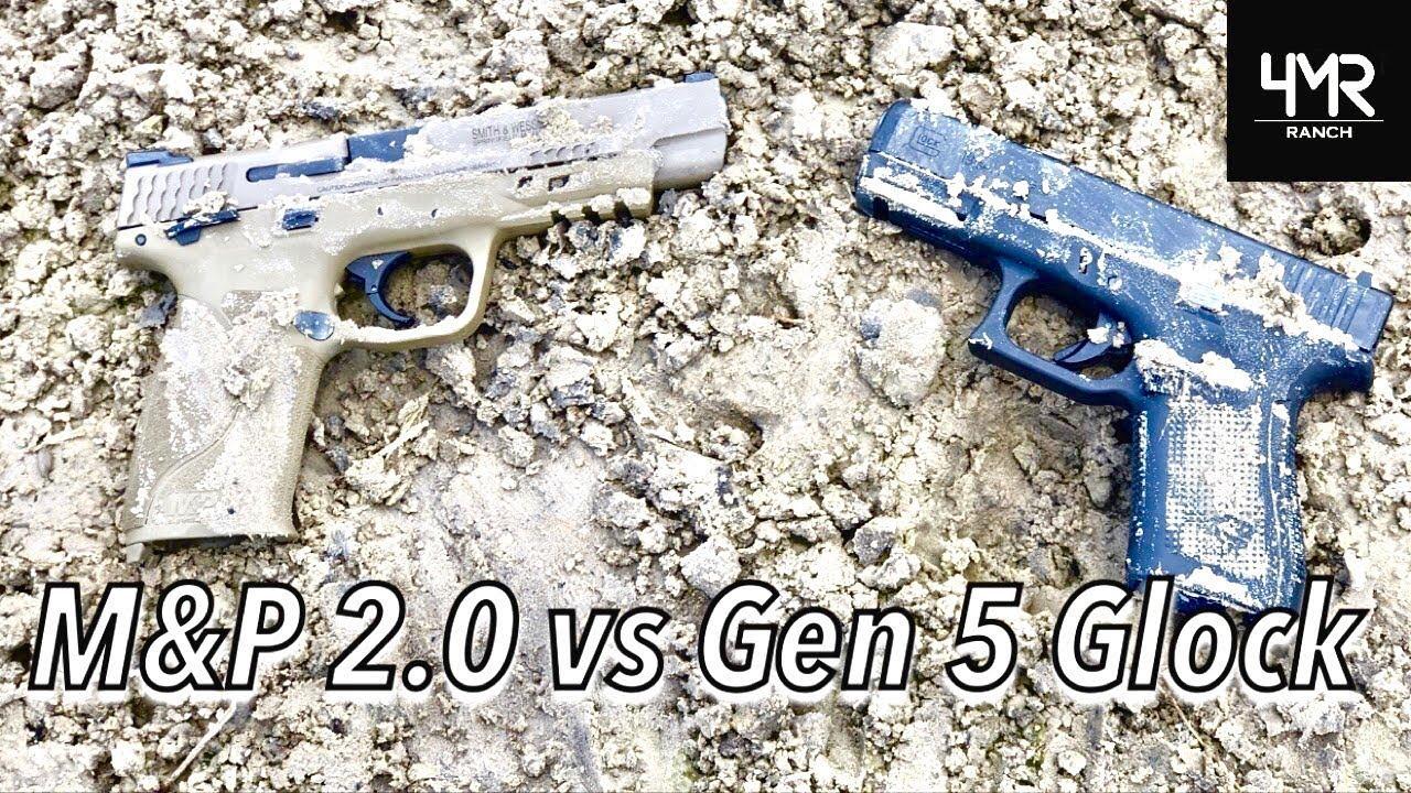 M&P 2.0 vs Gen 5 Glock TORTURE TESTS!