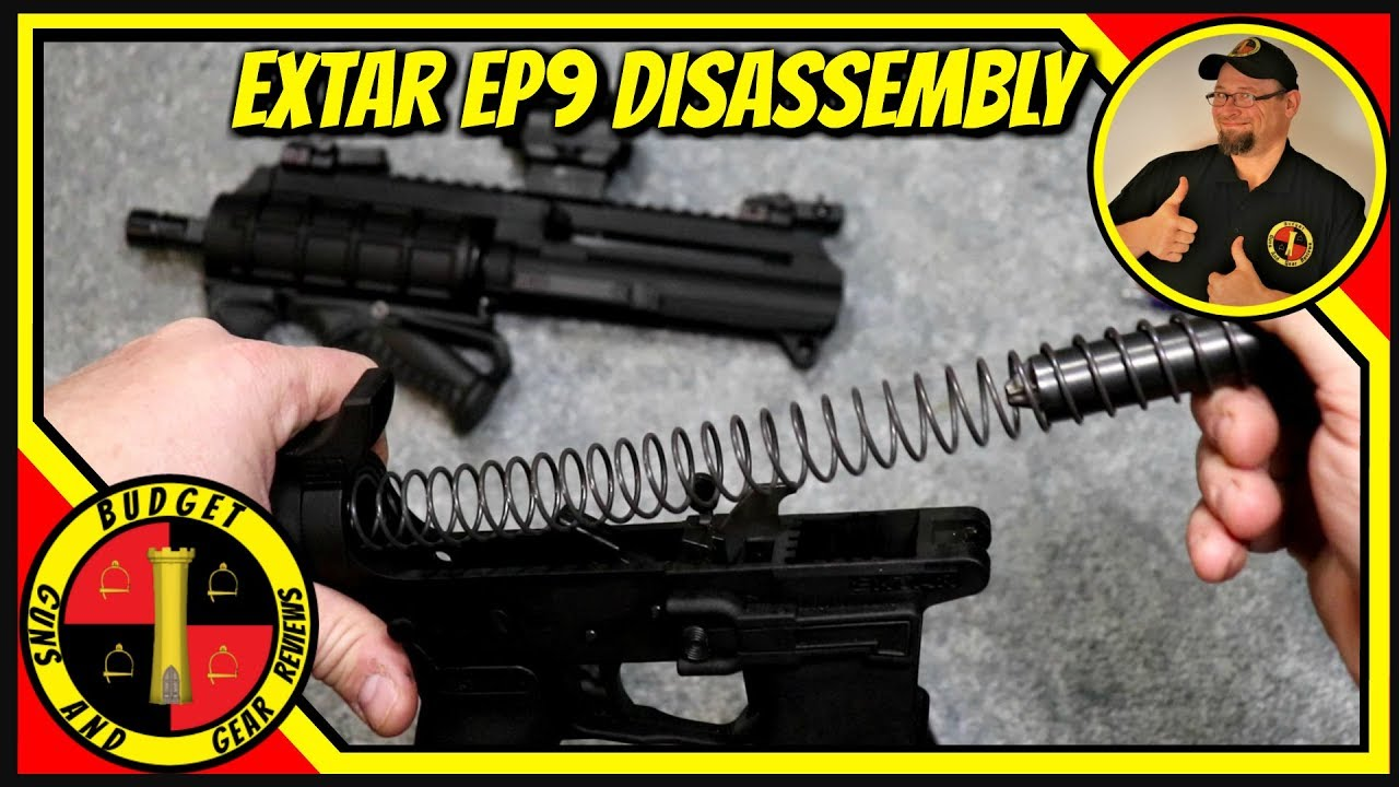 Extar Ep9 Disassembly- Budget PDW!