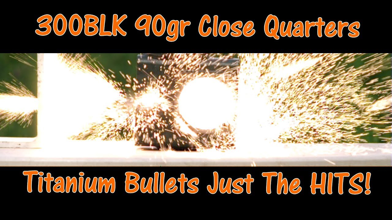 Lehigh Defense  308 CQ Close Quarters Titanium 300BLK Test #1 Just The Hits