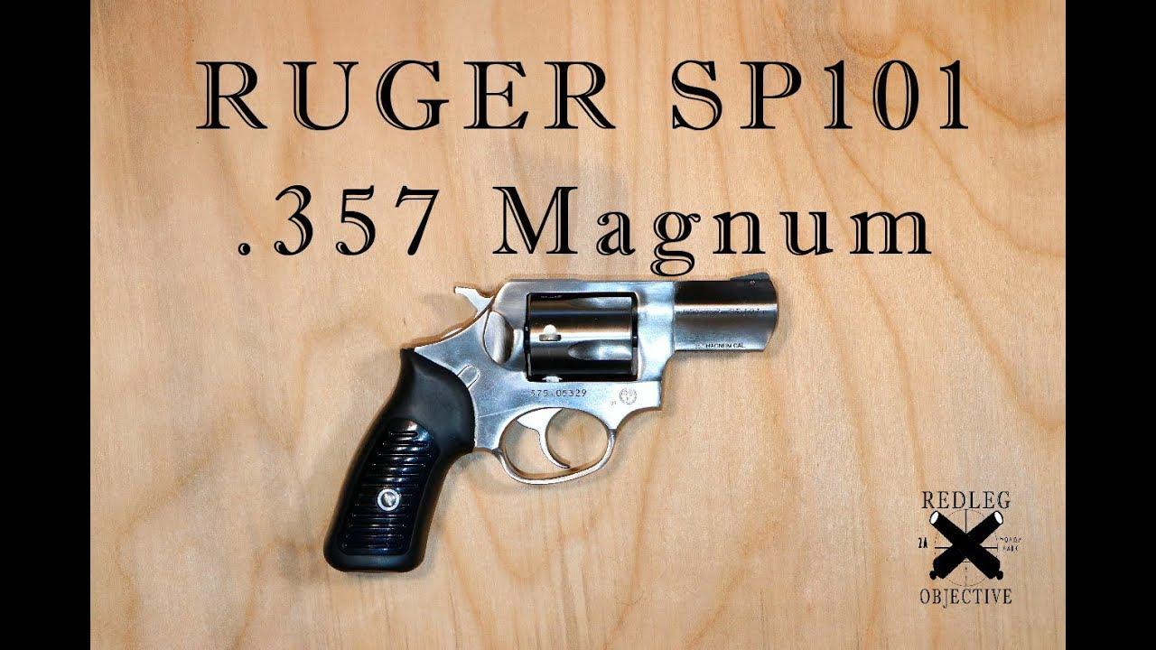 Ruger SP101 - 357 Magnum!
