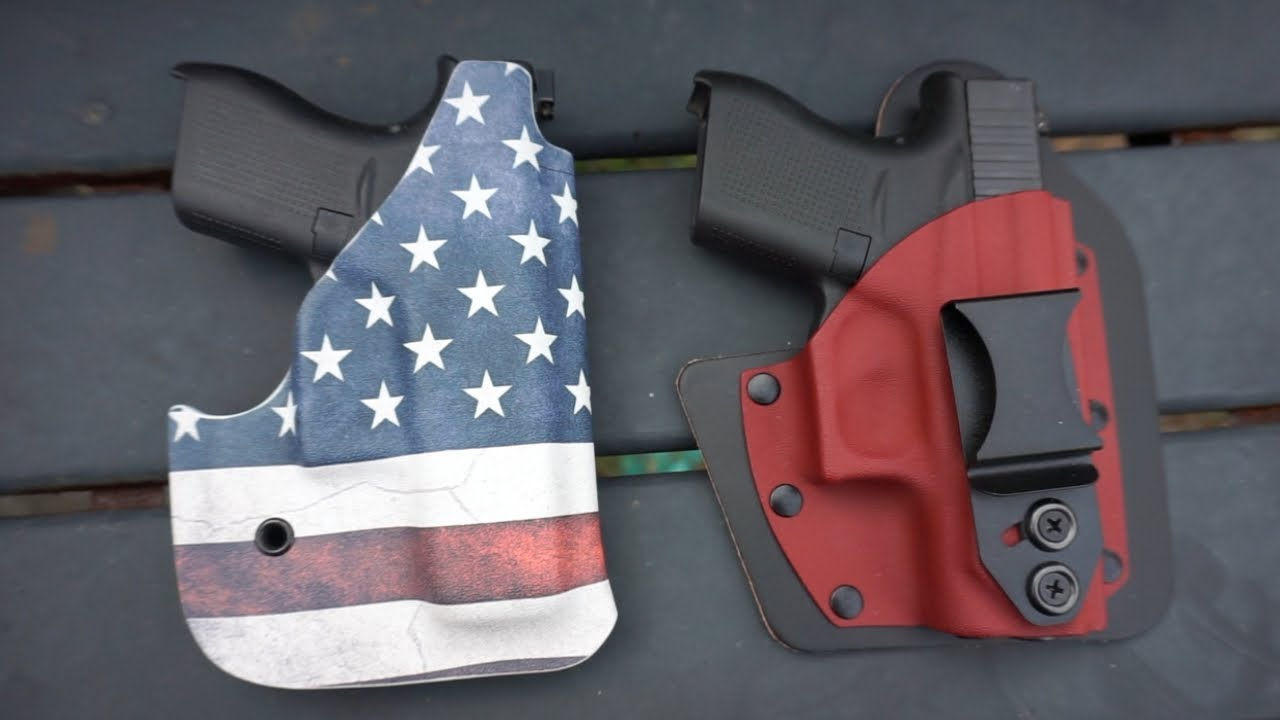 Glock 43 & Glock 42| Vedder Holsters First Impression