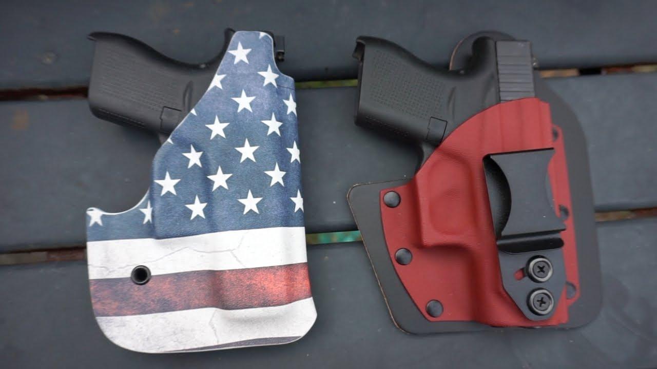 Glock 43 & Glock 42  Vedder Holsters First Impression
