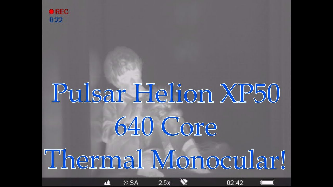 Pulsar Helion XP50 Thermal Monocular 1st Look and WiFi Firmware Update