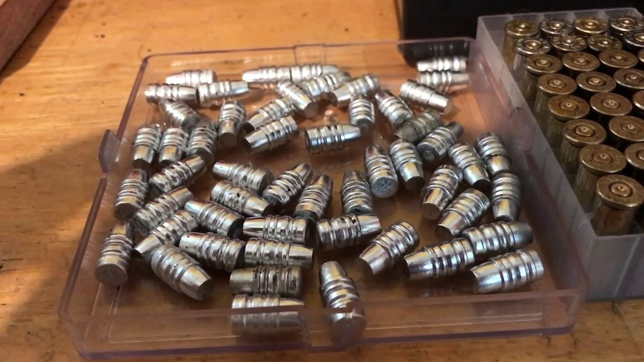 Making some zinc bullets