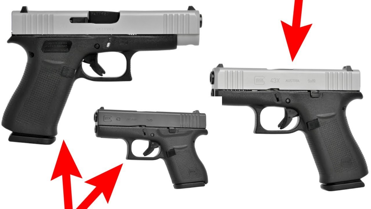 Thoughts on the Glock 43, 43X and 48!