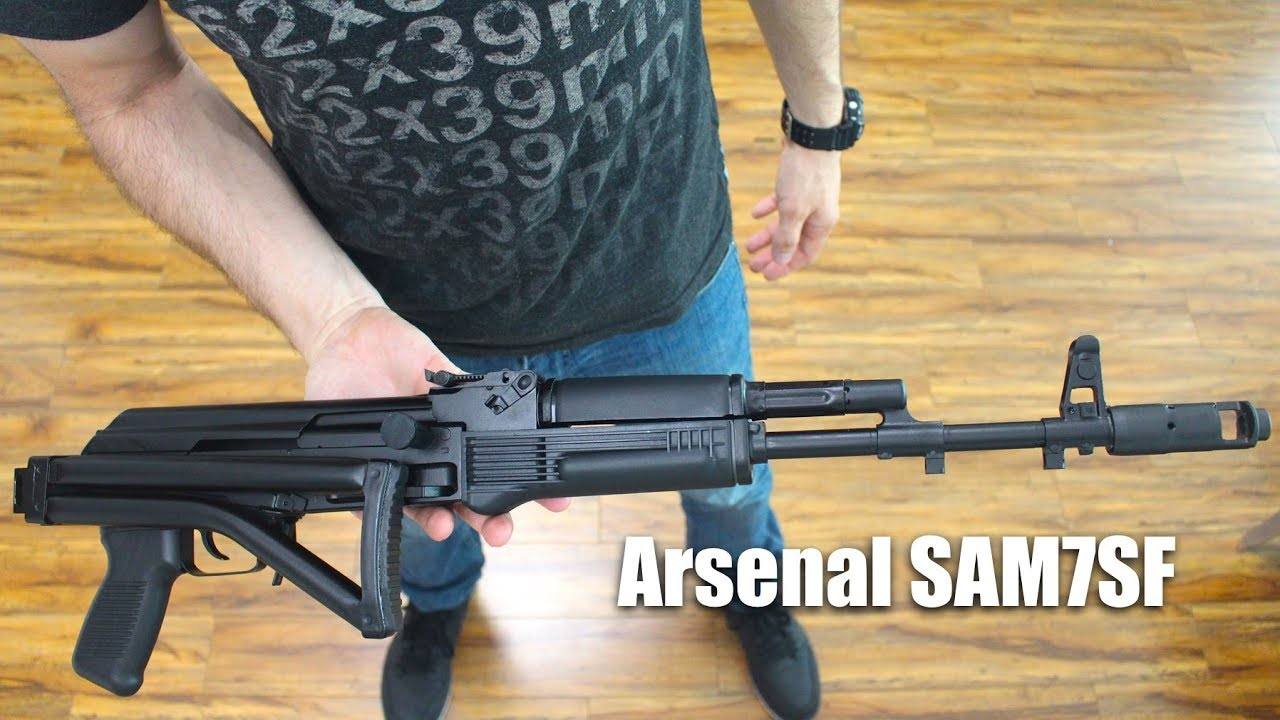 Arsenal SAM7SF Unboxing and First Shots