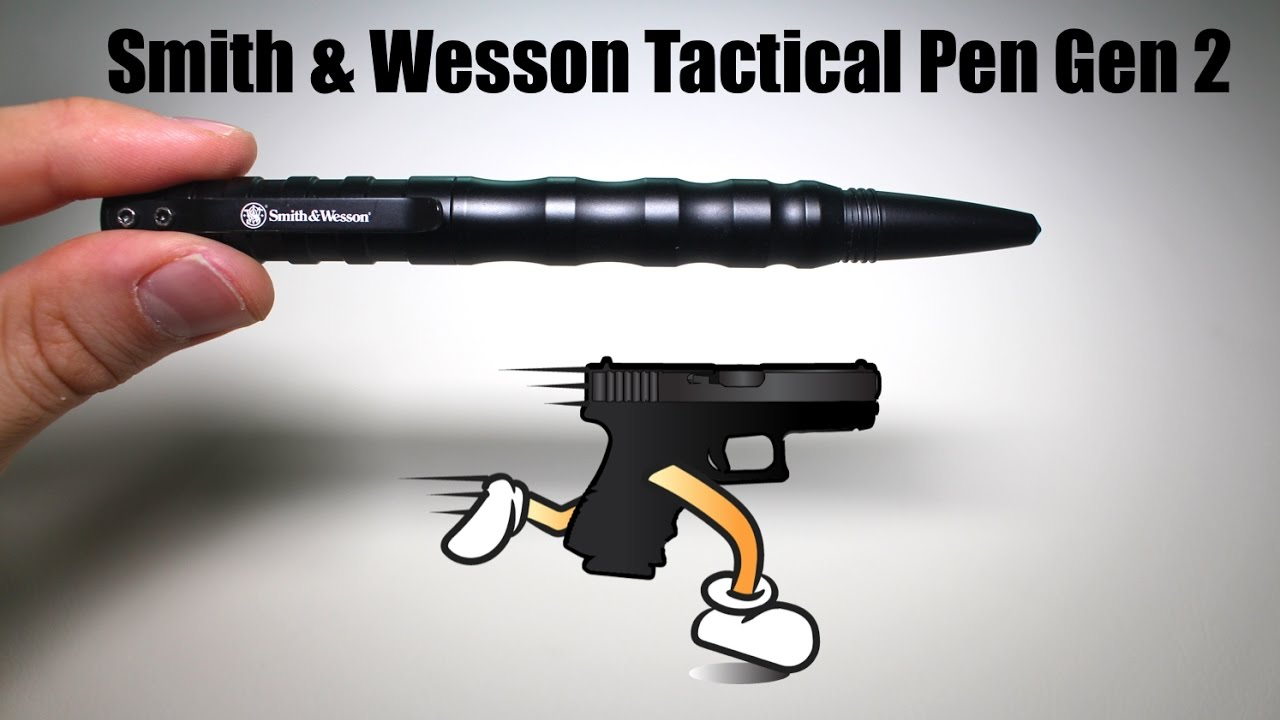 Smith & Wesson Tactical Pen Gen 2 Review