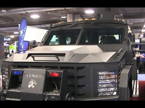 SHOT Show 2017 Armored Vehicle