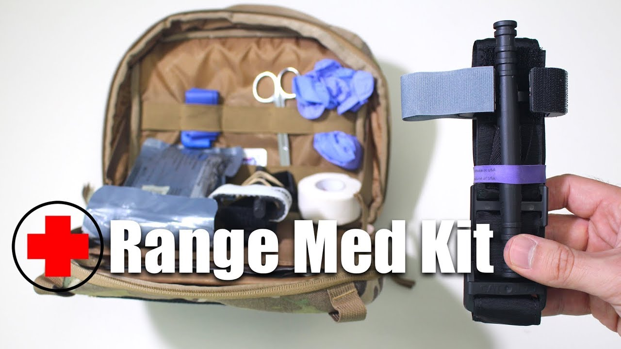 Range Bag Med Kit Essentials