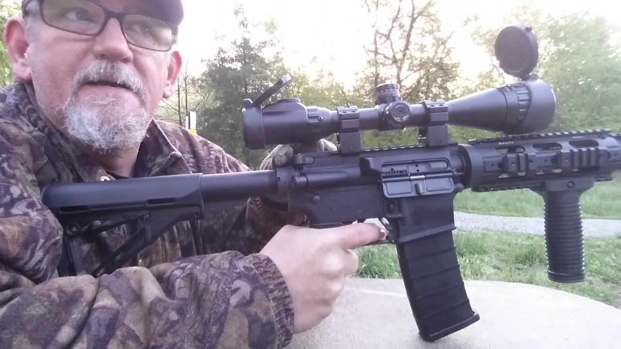 223 Remington cast bullet function test M16 AR-15 Mini-14