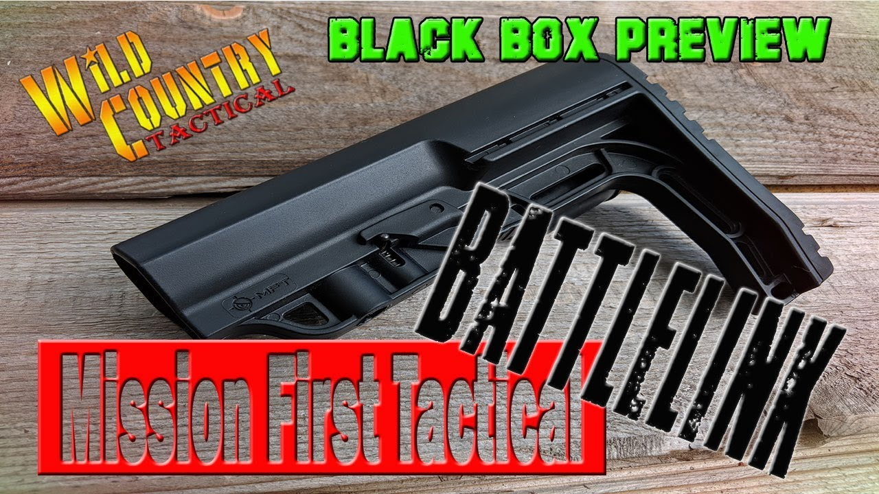 Black Box Preview....Mission First Tactical Battlelink Minimalist Stock