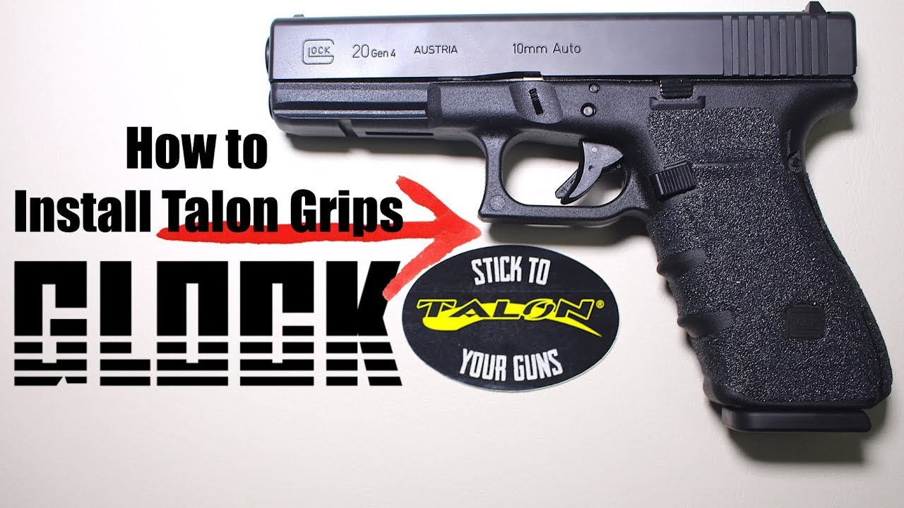How to Install Talon Grips on a Glock 20