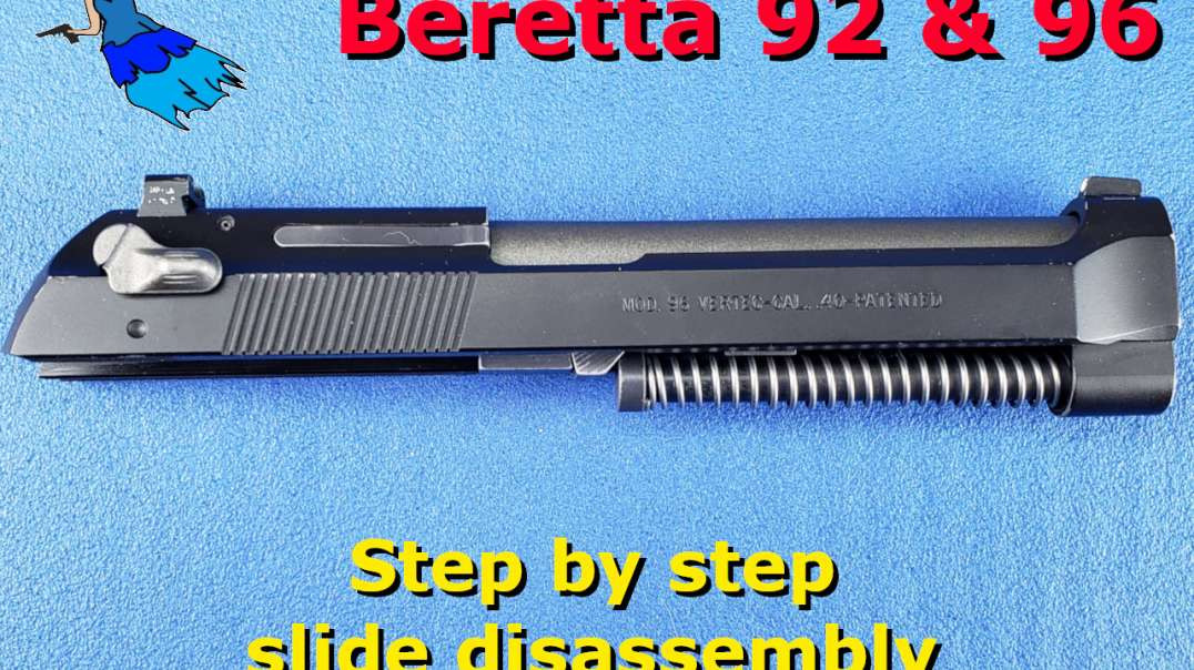 Beretta 92 96 M9 Slide Disassembly