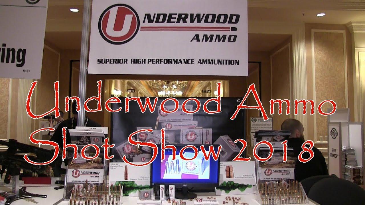 Shot Show 2018 Underwood Ammo