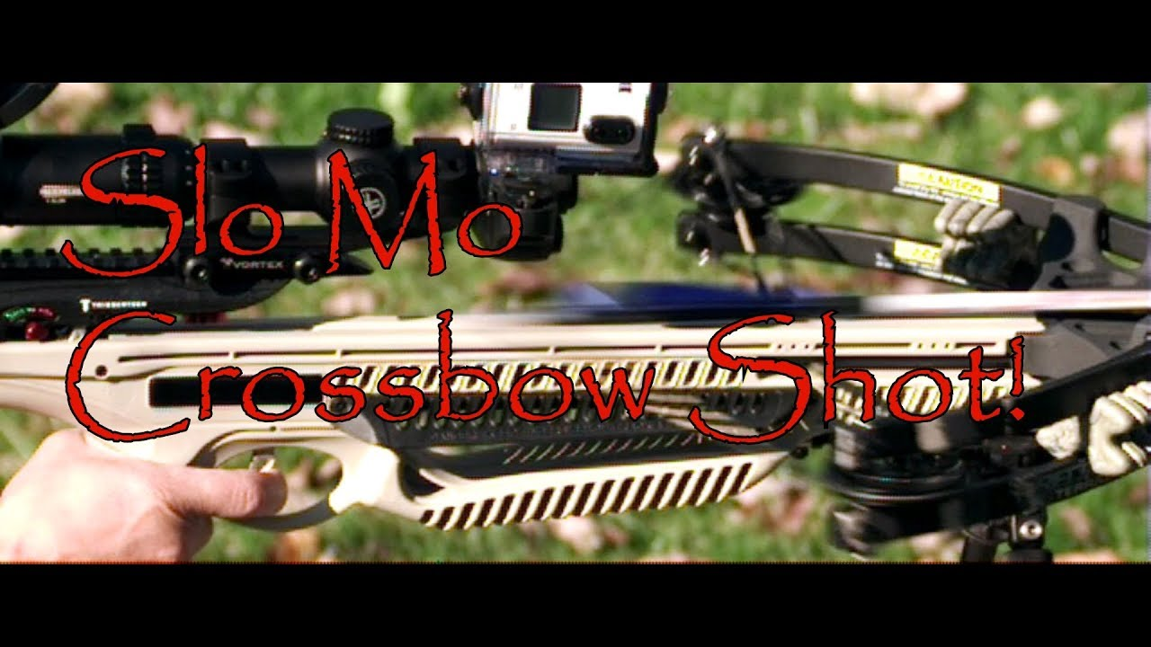 Ever Wonder What a Crossbow Looks Like At High Speed