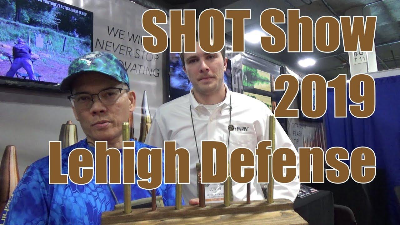 SHOT Show 2019 Lehigh Defense