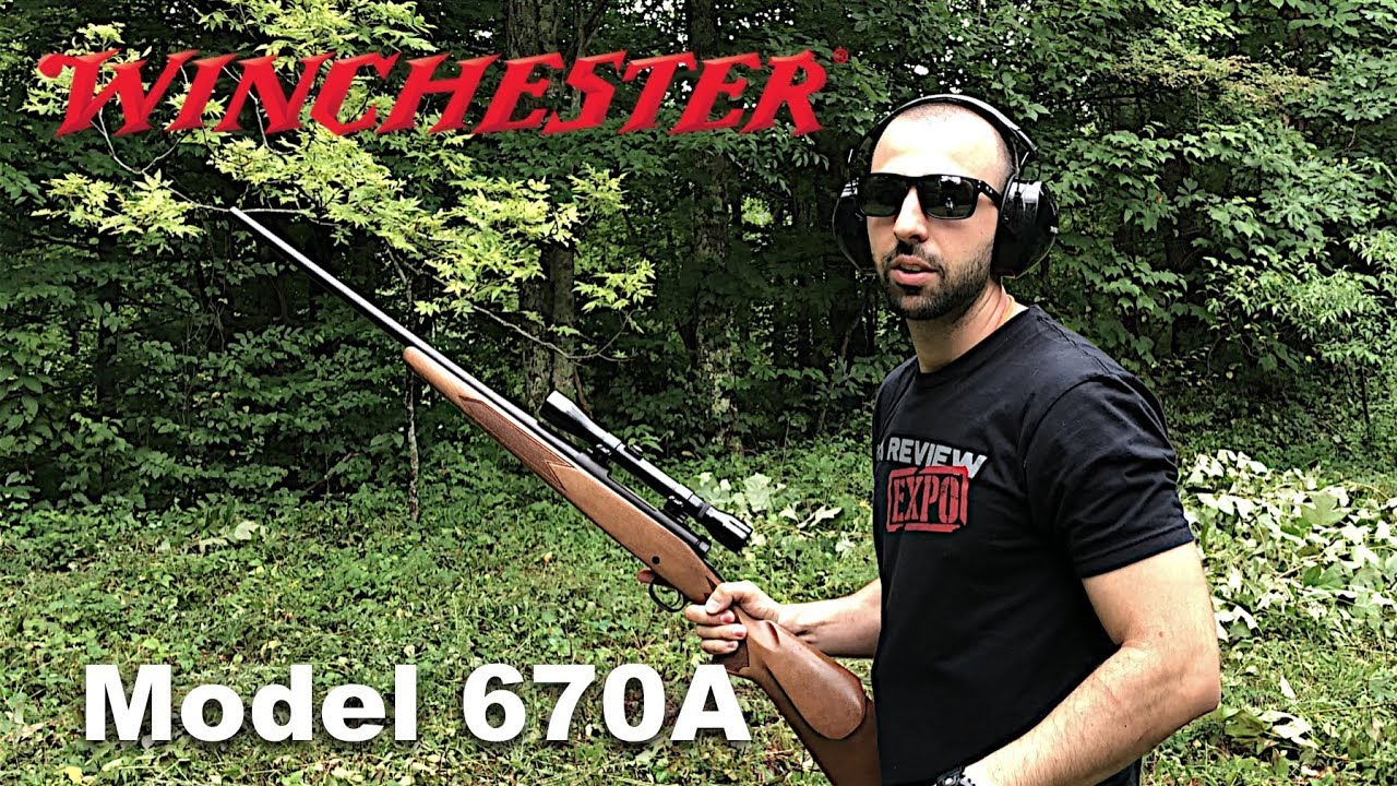 Winchester Model 670A - Family Range Day