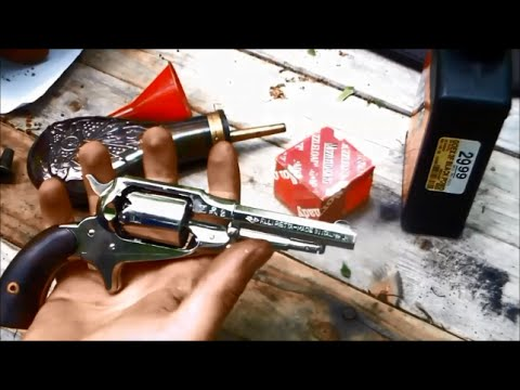 Shooting The Remington Pocket Revolver