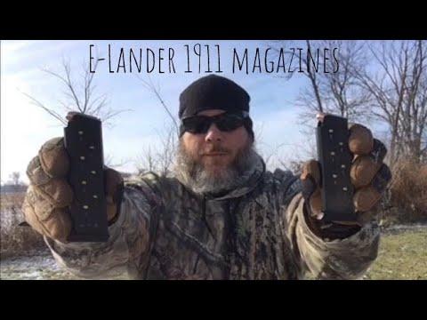E-Lander 1911 magazines