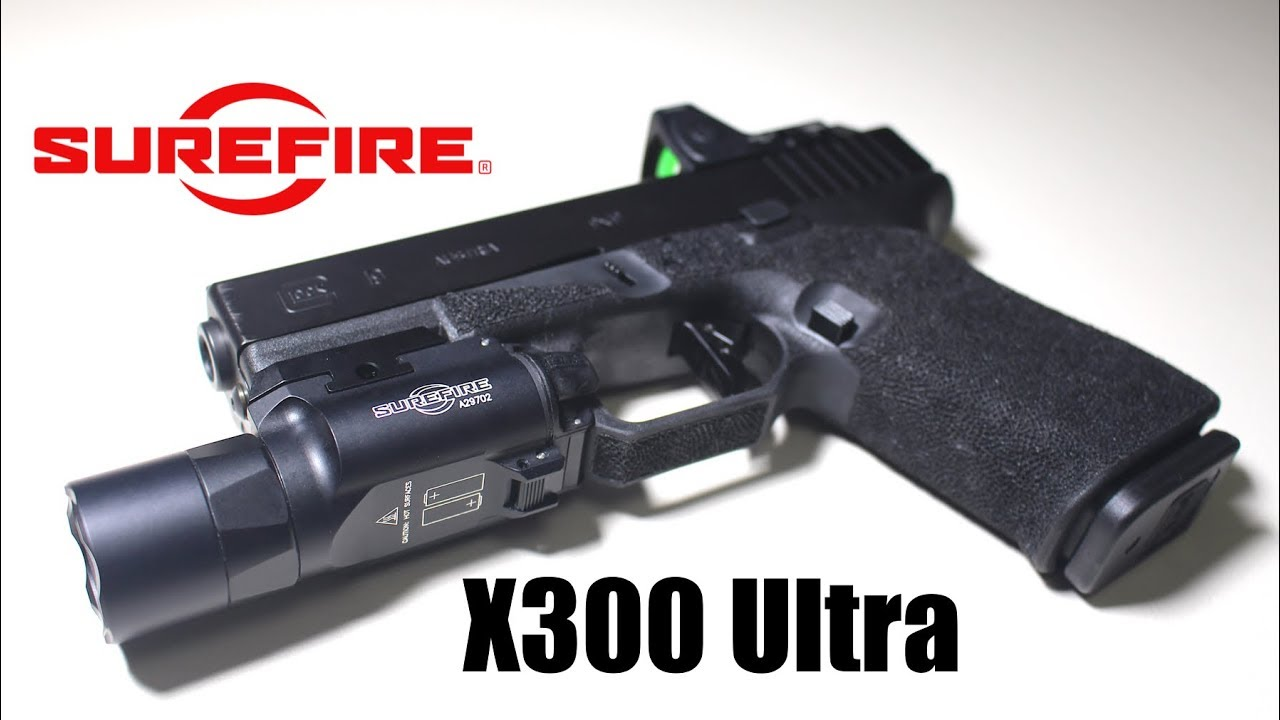 Surefire X300 Ultra [Unboxing + Review with Field Testing]
