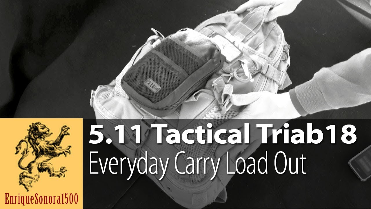 My 5.11 Tactical Triab18 EDC Load-Out Review