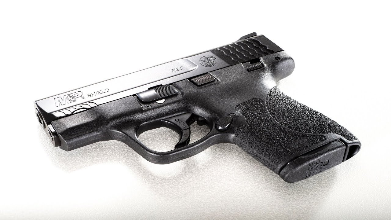 The New Smith and Wesson M & P Shield 2.0 in 9mm  #124