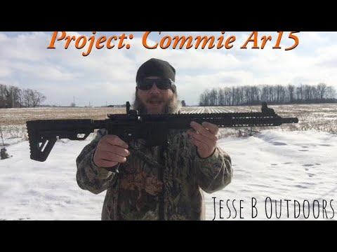 Project: Commie Ar15 (test fire)