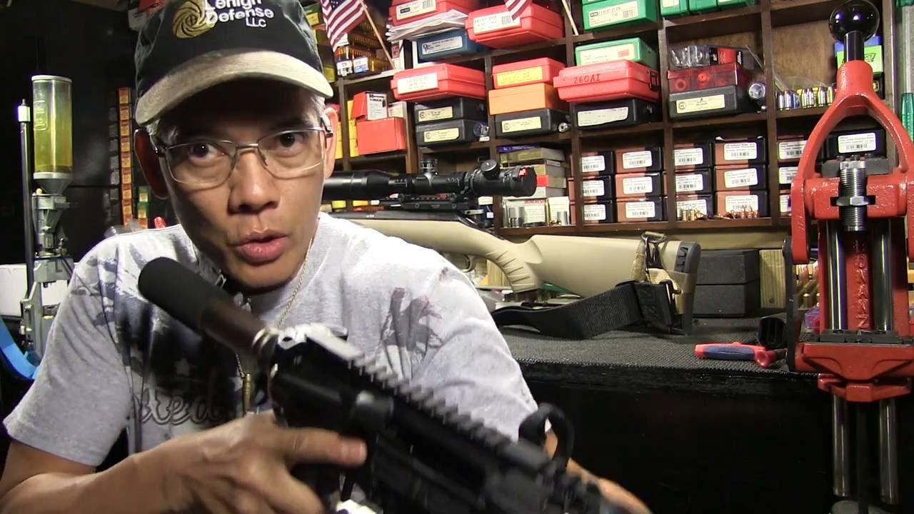 300 Blackout Pistol Put Together, Part 6, PC Armament Savvy Sniper Slings
