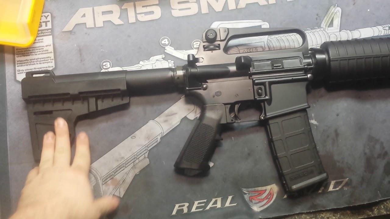 AR-15 pistol 10.5 inch barrel PSA