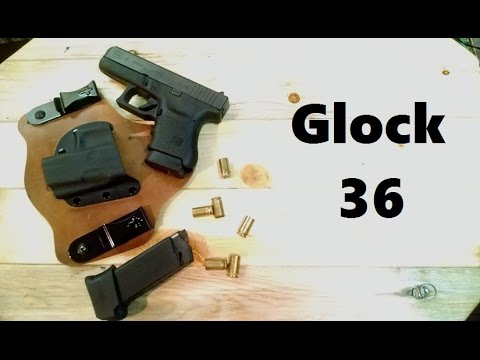 Glock 36 (First Impressions Review)