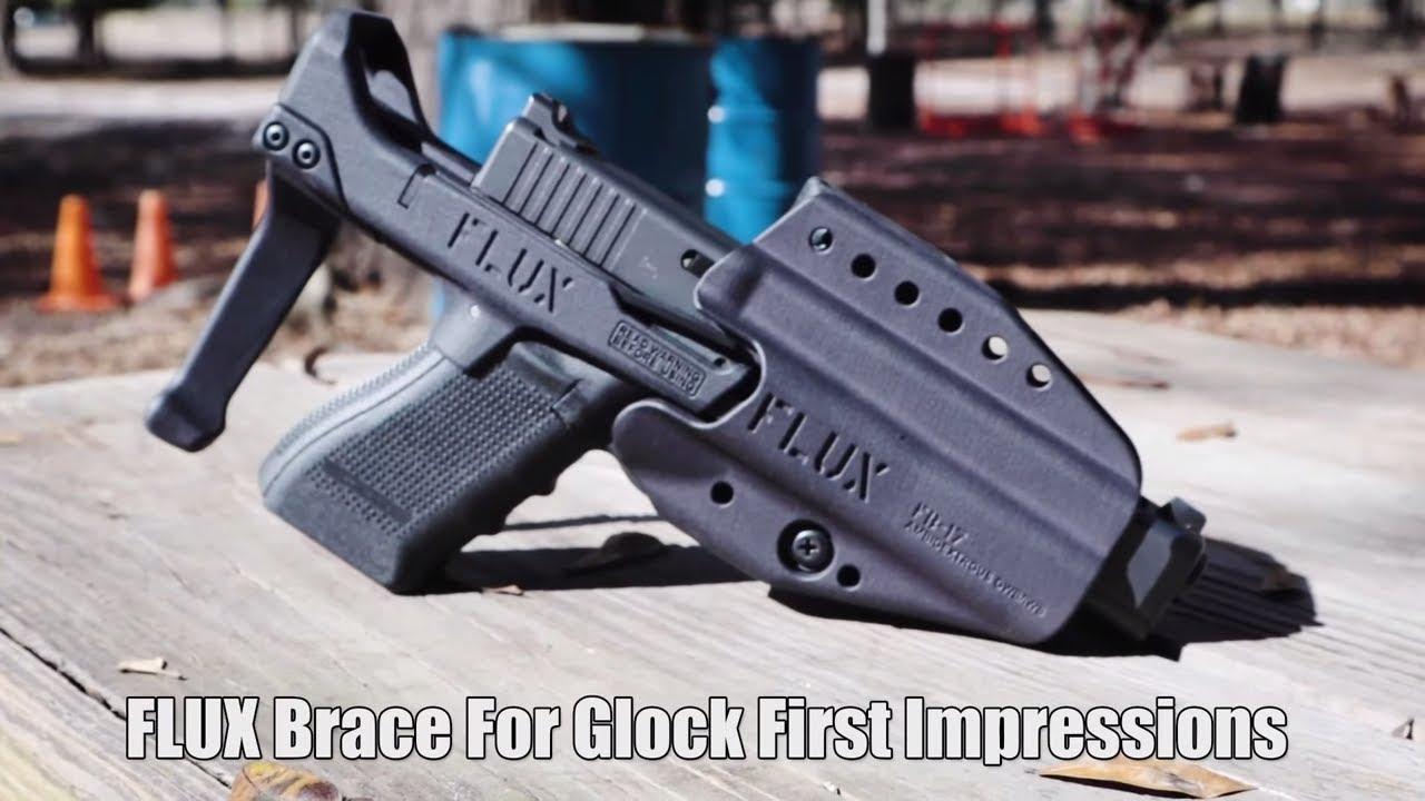 FLUX Brace For Glock First Impressions // FLUX Defense