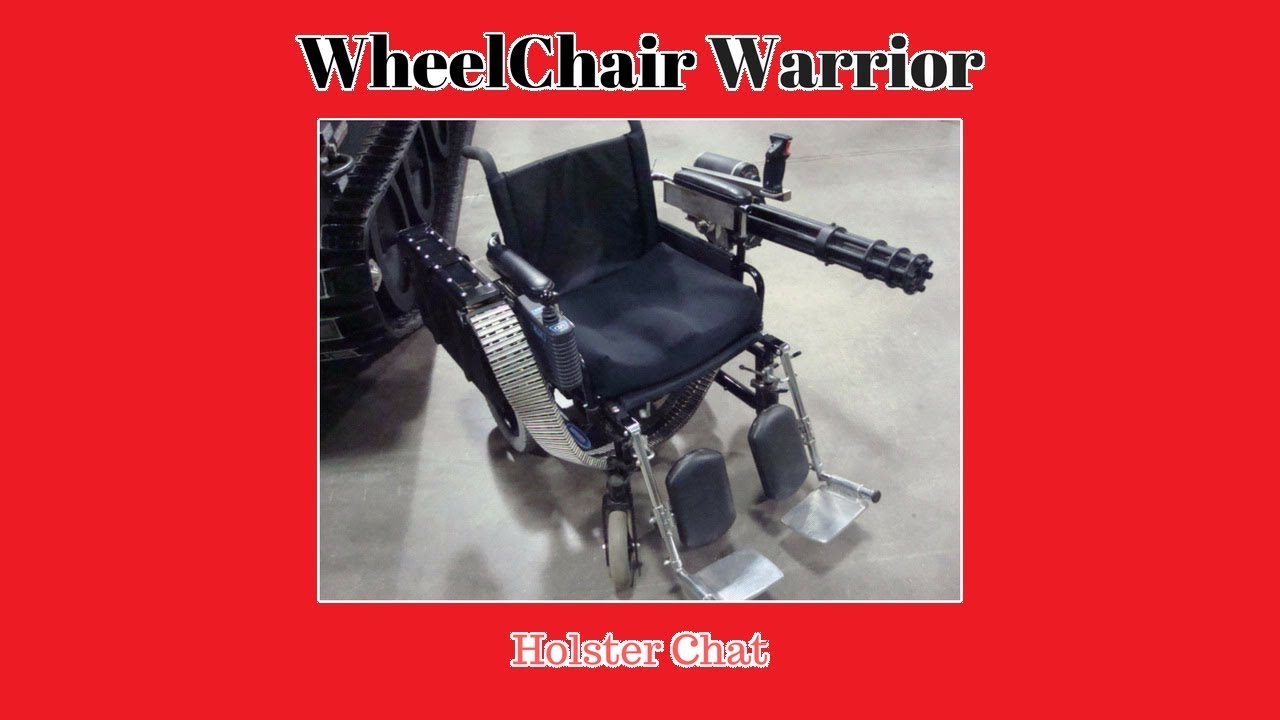 Wheelchair Holster mounting Discussion
