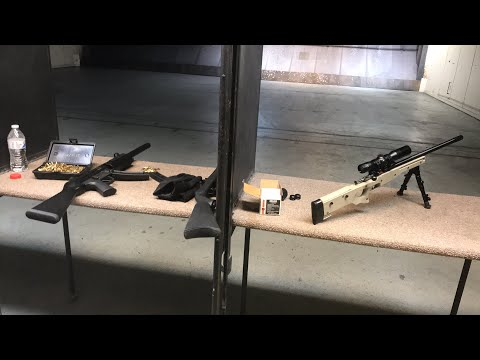 Live at the range. Gsg 5. Crickett