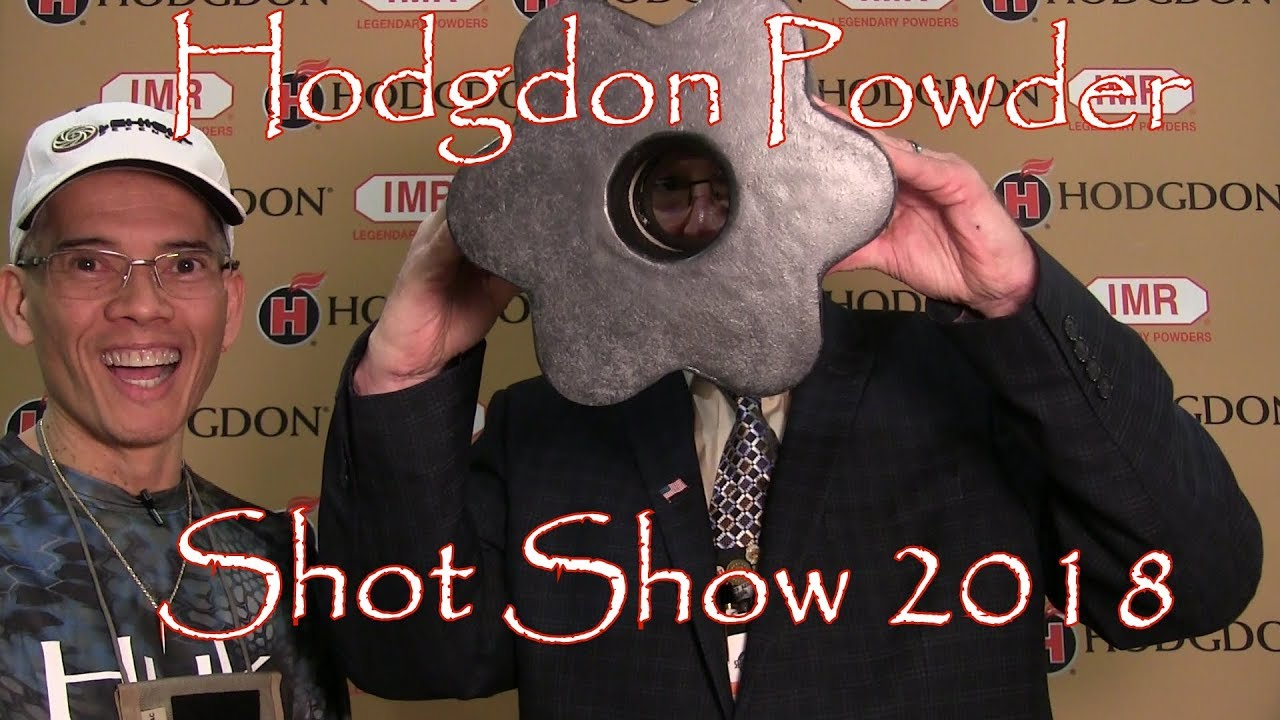 Shot Show 2018 Hodgdon Powder