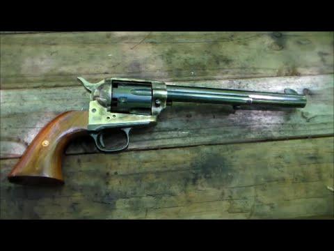 Shooting the Colt 1873 SAA .44 Cap & Ball Revolver