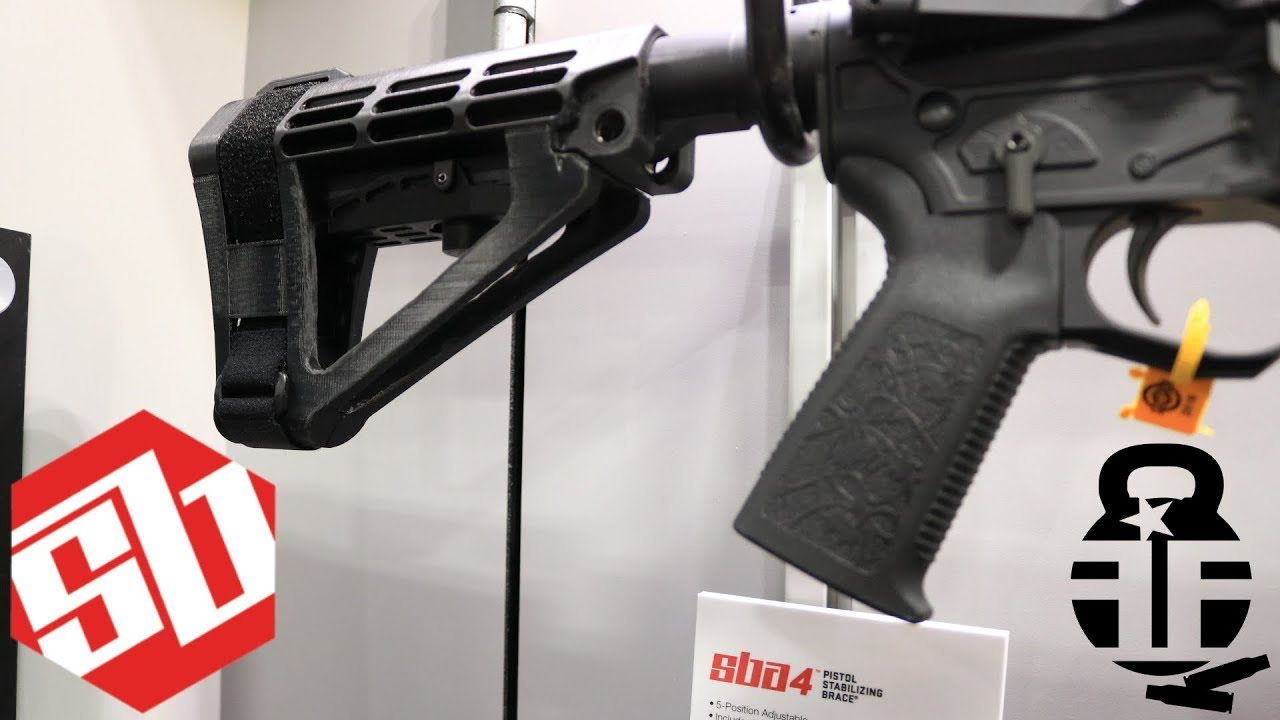 ***NEW*** SB Tactical SBA4 Released at Shot Show 2019