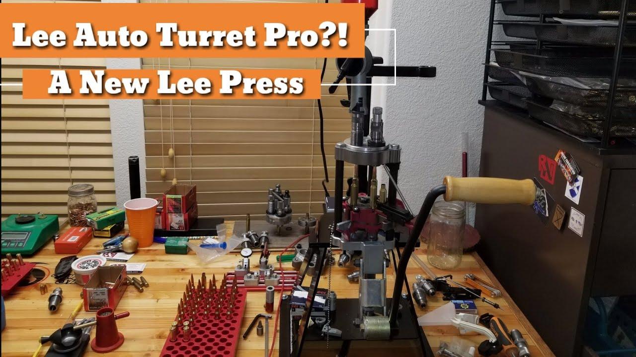 Lee Auto TURRET Pro?! A New LEE Press? Loading 6.5 Creedmoor