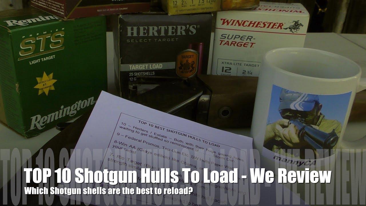 Top 10 BEST Shotgun Hulls - 12 GAUGE EDITION!