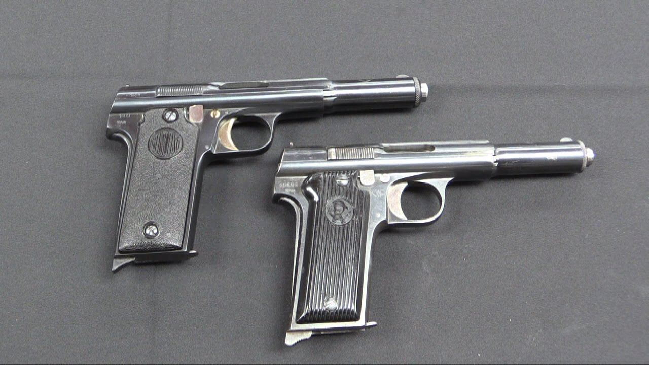 Spanish Anarchist Pistols: the RE and Ascaso