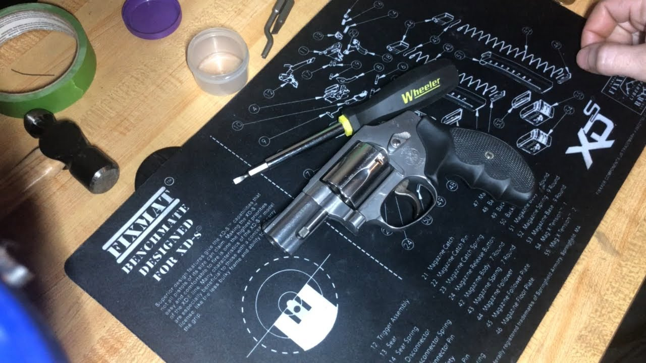 S&W 640 Disassembly/Assembly (Other DAO S&W Too)