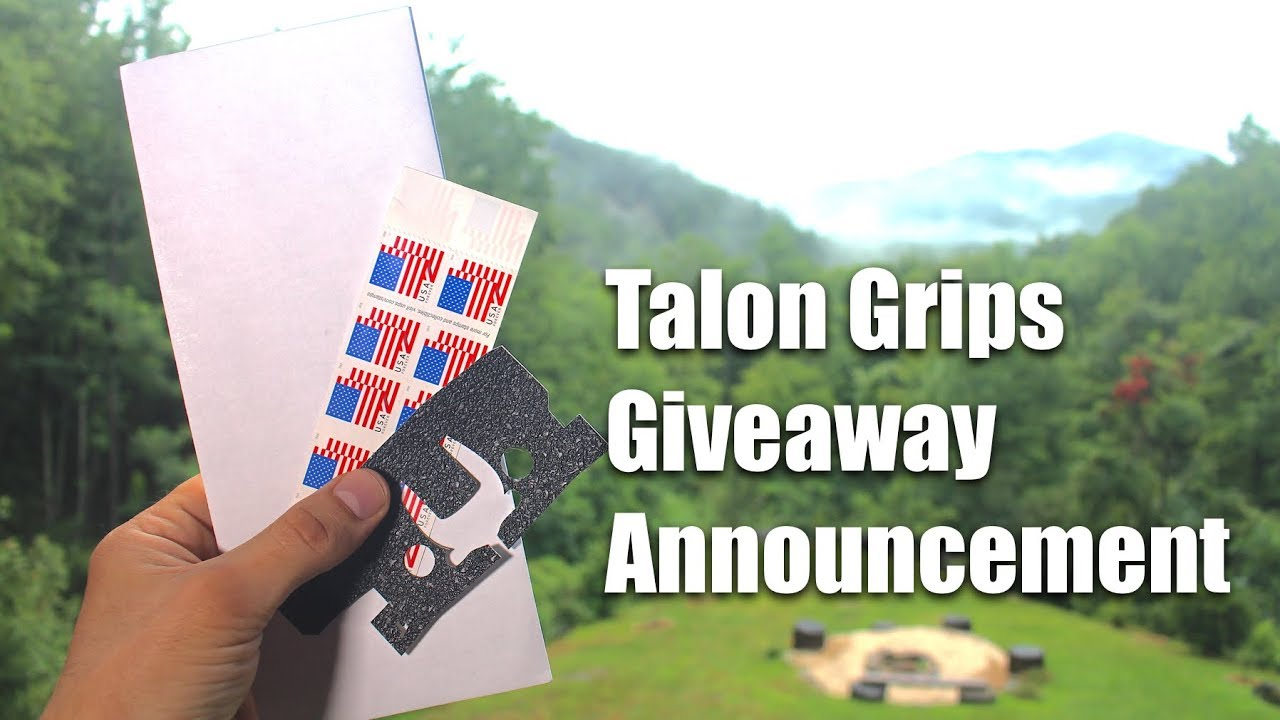 Talon Grips Giveaway Announcement