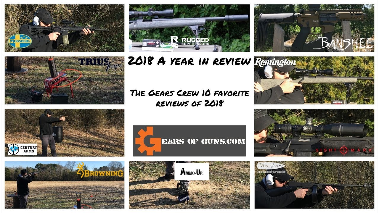 2018: A Year In Review - The Gears Crew Favorites of 2018